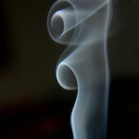 by Shivalkar Jha - Abstract Fine Art ( smoke holy smoke smoke pattern air )