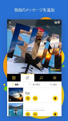 MoShow - スライドショー ムービーメーカーのおすすめ画像2
