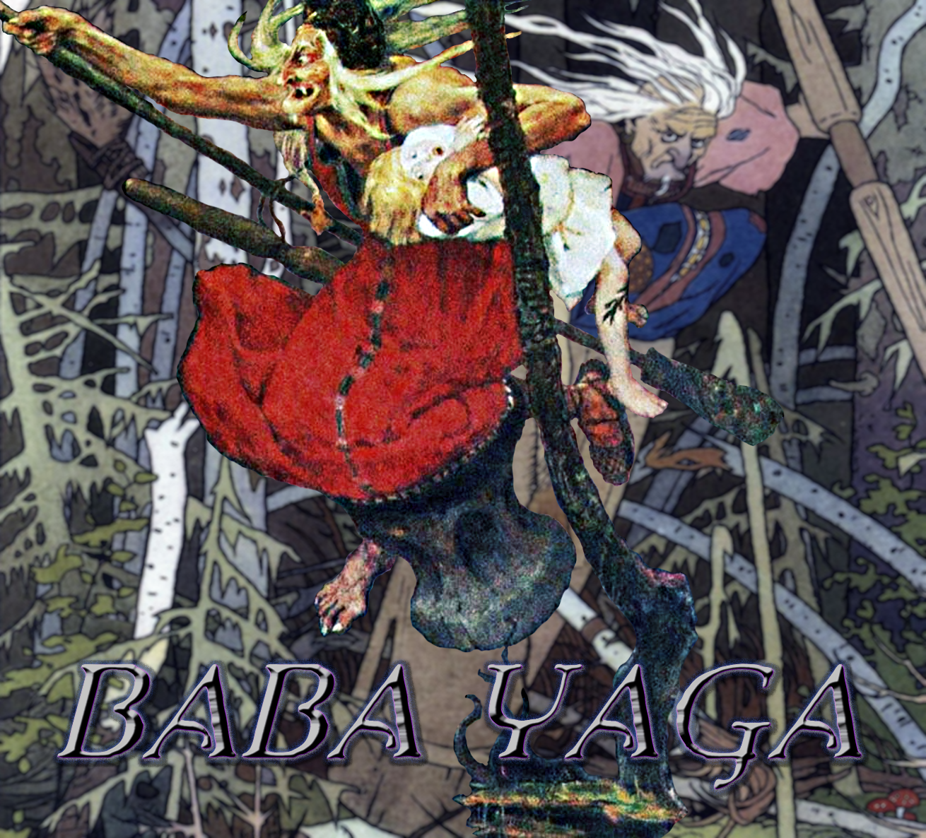 Mythological Figures: Baba Yaga (5E) | Morrus' Unofficial