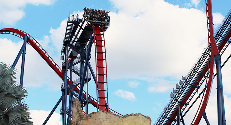 Most Thrilling Roller Coasters in Florida