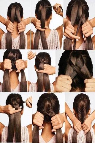 一步一步的头发(女性)