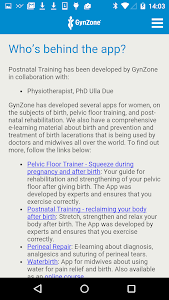 Postnatal Trainer screenshot 3