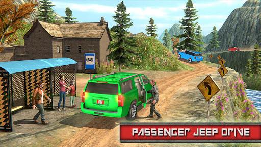 Crazy Taxi Jeep Drive androidiapk screenshots 1