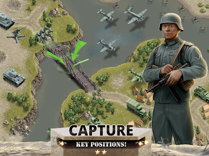 1944 Burning Bridges – a WW2 Strategy War Game Apk Download For Android and Iphone 8