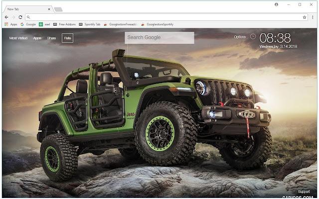 Jeep Car Wallpaper Cars New Tab Freeaddon Com