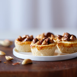 Peanut Butter & Chocolate Cookie Cups.