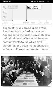 History Timeline Of World War 1 - náhled