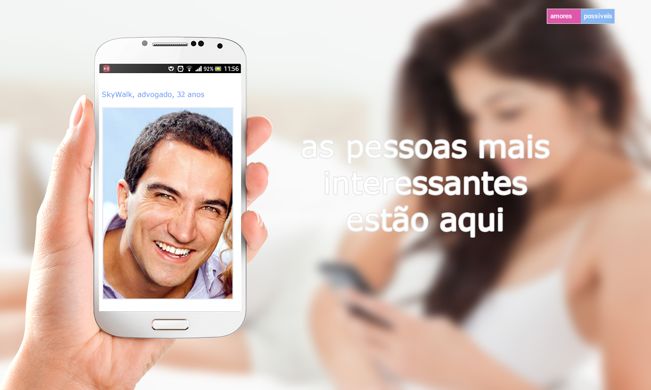 Amores Possiveis - Dating- screenshot
