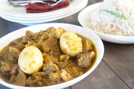 Nigerian Ayamase / Ofada Stew