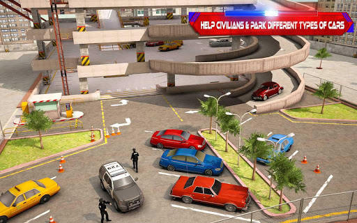 Multistory Police Car Parking Crime Escape Control 1.0 screenshots 4