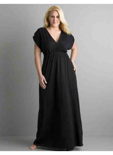 レディースプラスサイズのドレス