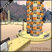 Super Fire Balls: 3D Ball Games