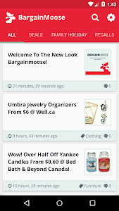Bargainmoose : Deals & Coupons screenshot 0
