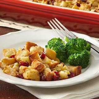 Gluten-Free Cranberry Apple Stuffing.