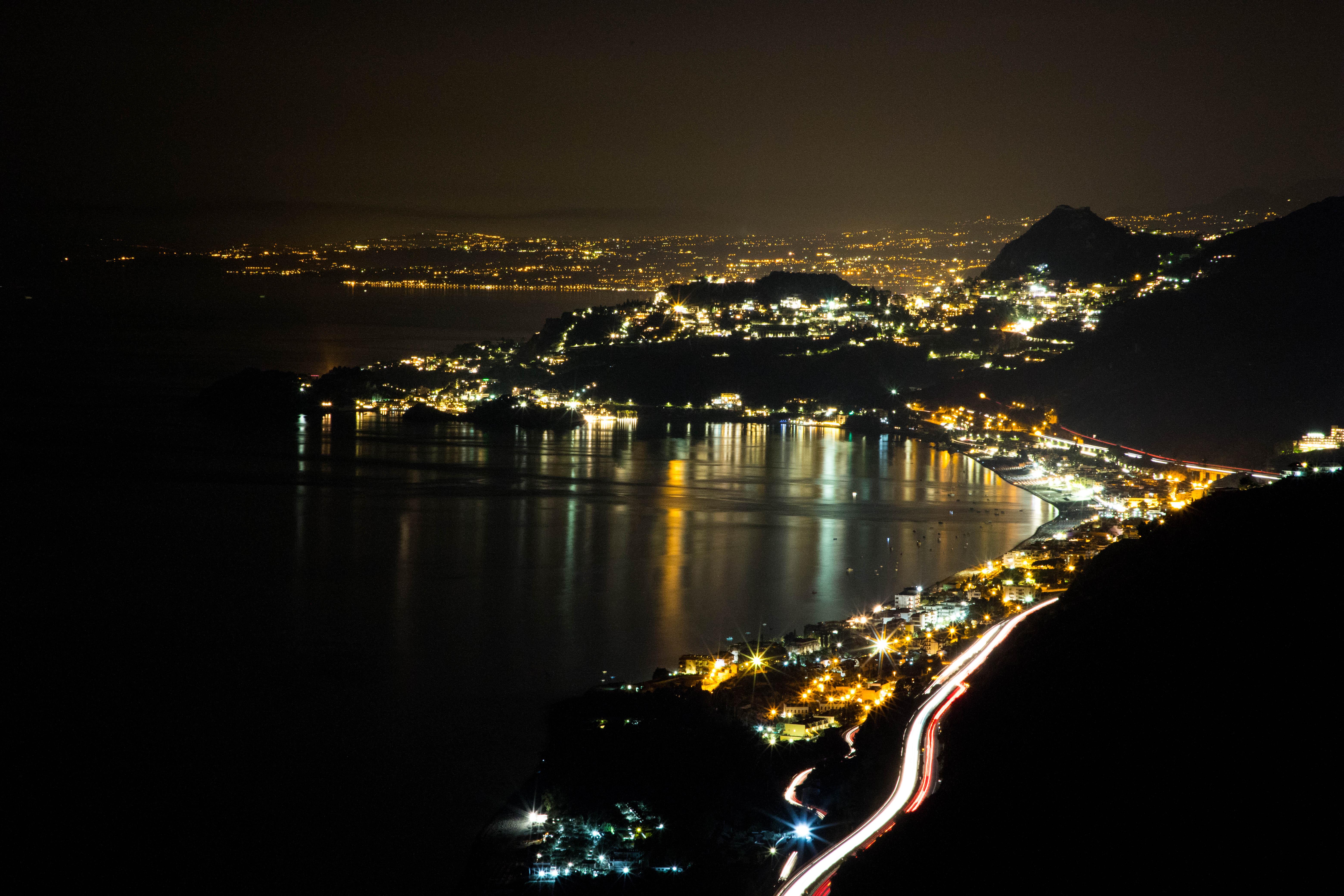 Taormina by night di Fabien