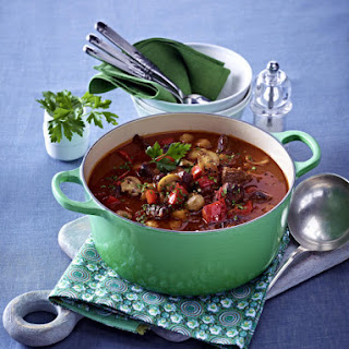 Hearty Beef and Mushroom Stew