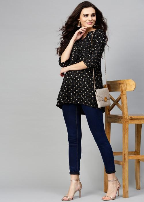 SIMPLE SHORT KURTI