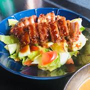 Tonkatsu (Pork) Salad