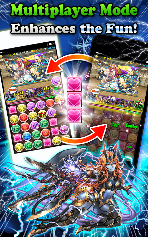 Puzzle & Dragons- screenshot