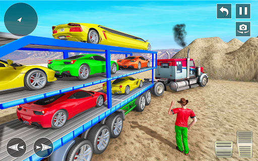 Real Truck Driving Simulator:Offroad Driving Game screenshots 2