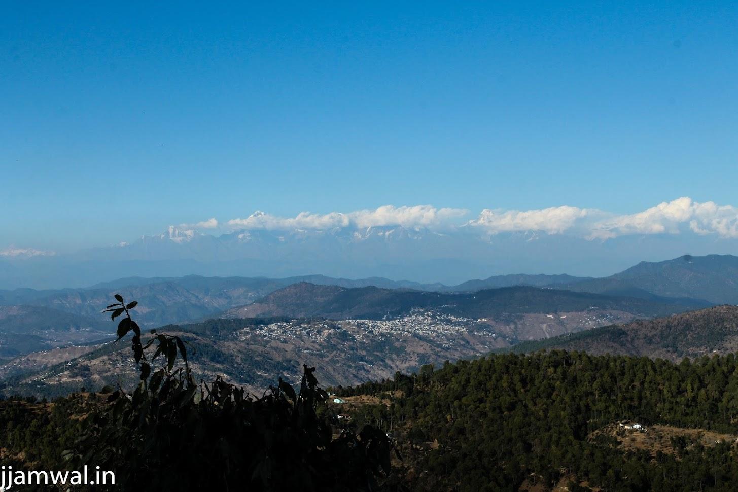 View from gusht house in Sitla near Mukteshwar
