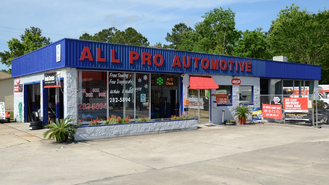 All Pro Automotive >> All Pro Automotive Of Middlburg Auto Repair Shop In Middleburg