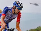 Thibaut Pinot mee in vroege vlucht maar toch niet goed genoeg voor etappezege in Tour of the Alps