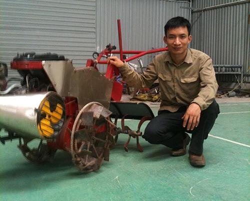 Máy nông nghiệp tự chế - Nông dân tự làm giàu bằng công nghệ