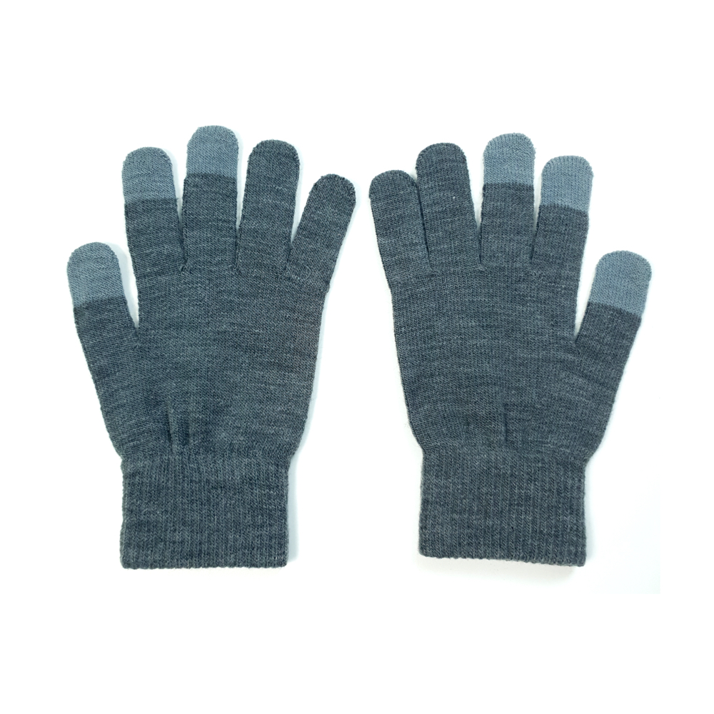 Grey Touch Gloves (Wholesale) - Pack of 50