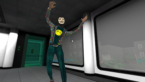 Smiling-X Corp: Escape from the Horror Studio apktram screenshots 1