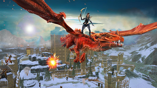 Flying Dragon Games: capturas de pantalla de City Action 3D 2