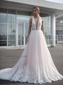 258ac382bd8406d Свадебное платье Этель от Anna Kuznetcova. Есть в наличии в 3 салонах ценой  от 36500 до 36570 руб.