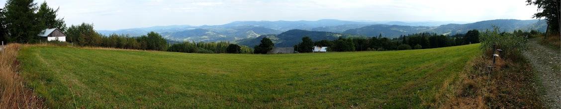 Photo: Panorama z Cieślara.