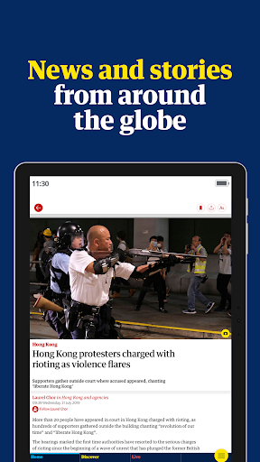 Foto do The Guardian - Live World News, Sport & Opinion