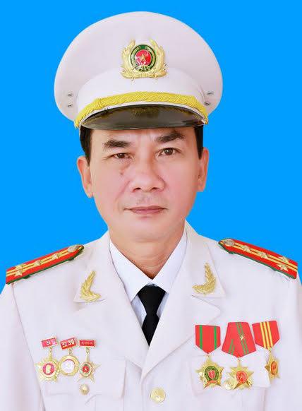 Đồng chí Đại tá Lê Xuân Hoài, Phó Giám đốc Công an tỉnh