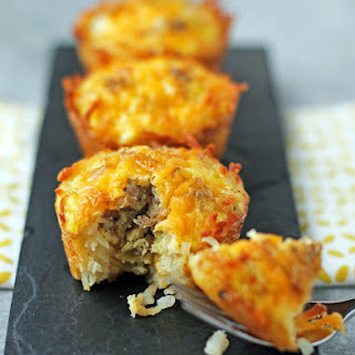 Sausage, Egg & Cheese Hash Brown Cups