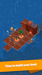 Idle Arks: Build at Sea MOD APK 2.1.1 [Unlimited Wood + Diamonds] 1