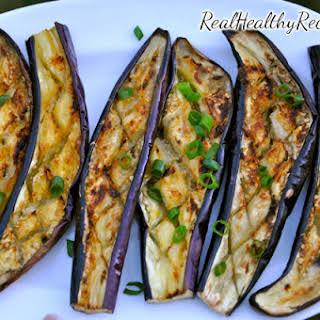 Grilled Japanese Eggplant.