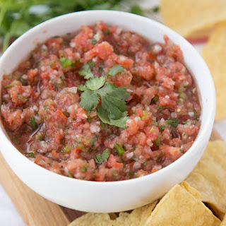 Basic Fresh Salsa with Corn & Black Beans