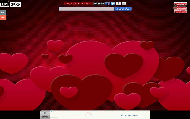 Valentine's Day 2015 New Tab