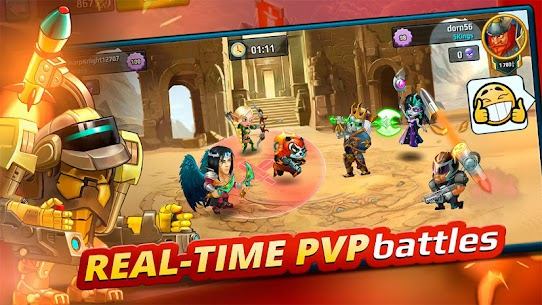 Battle Arena: Heroes Adventure – Online RPG 4