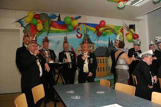 Photo: President Sjef zonder strik(vergeten)!!!