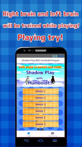 Shadow Play Humboldt Penguin