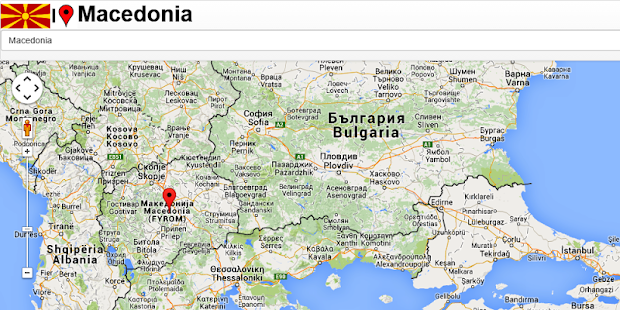 gugl mapa crne gore Macedonia map   Apps on Google Play gugl mapa crne gore