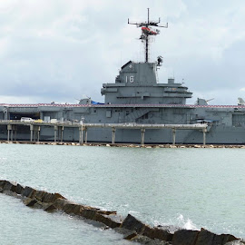 USS Lexington by Brian Hood - Transportation Boats