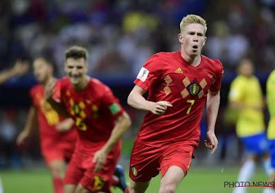 """De Bruyne déjà focus: """"De la pression supplémentaire ? En Coupe du Monde c'est toujours maintenant ou jamais"""""""
