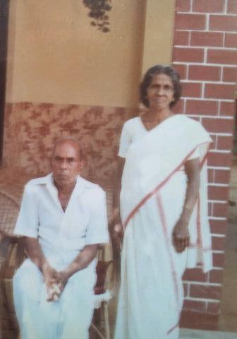 Photo: MY  passed away GRANDFATHER  AND MY GRANDMOTHER : sri.kungukungu vilayil 'Ayathil'panicker'Muthalali& Smt.bhargaviamma vilayil 'Ayathil'panicker'Muthalali