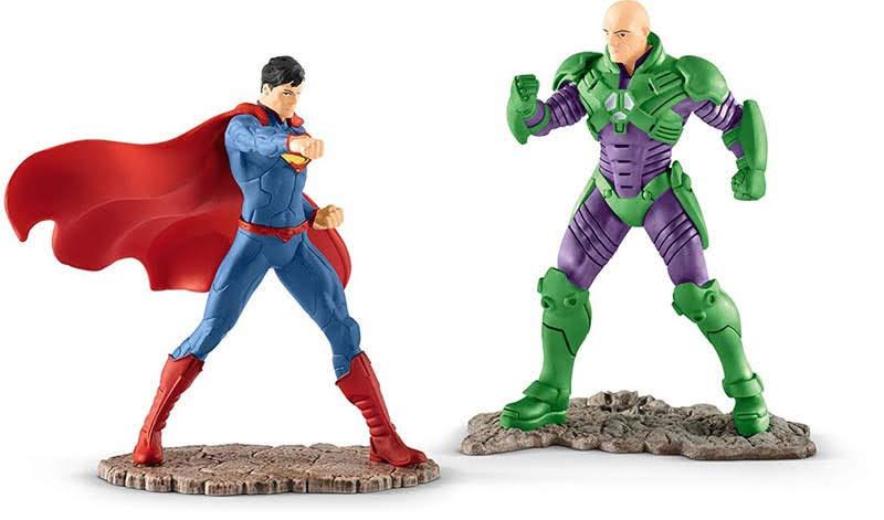 Contenido de Schleich® 22541 Superman Versus Lex Luthor