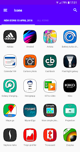 S9 UX HD - ICON PACK Screenshot