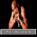 2Pac Songs Offline ( tupac Songs without internet) icon